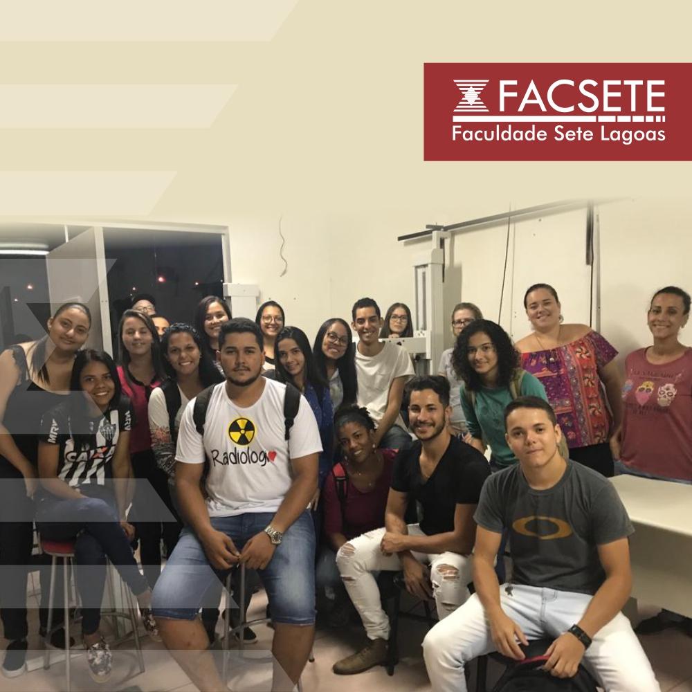 RADIOLOGIA: CALOUROS VISITAM INSTALAÇÕES DA FACSETE