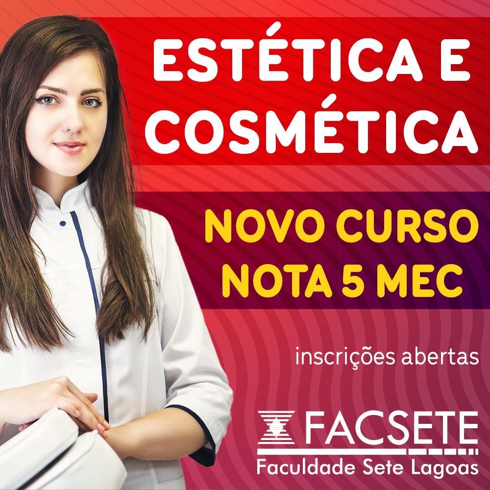 FACSETE LANÇA NOVO CURSO EAD DE ESTÉTICA E COSMÉTICA