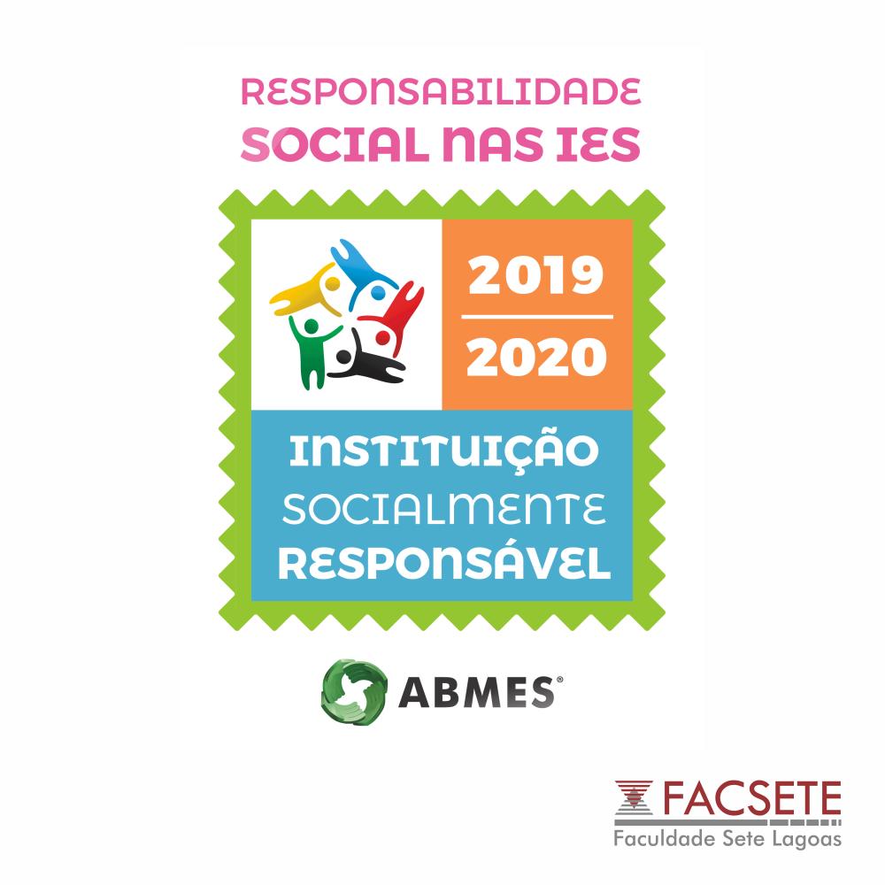 FACSETE CONQUISTA NOVAMENTE SELO DE RESPONSABILIDADE SOCIAL