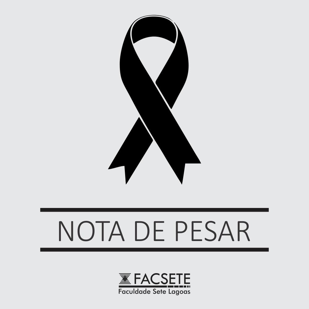 NOTA DE PESAR: GERALDO CARLOS