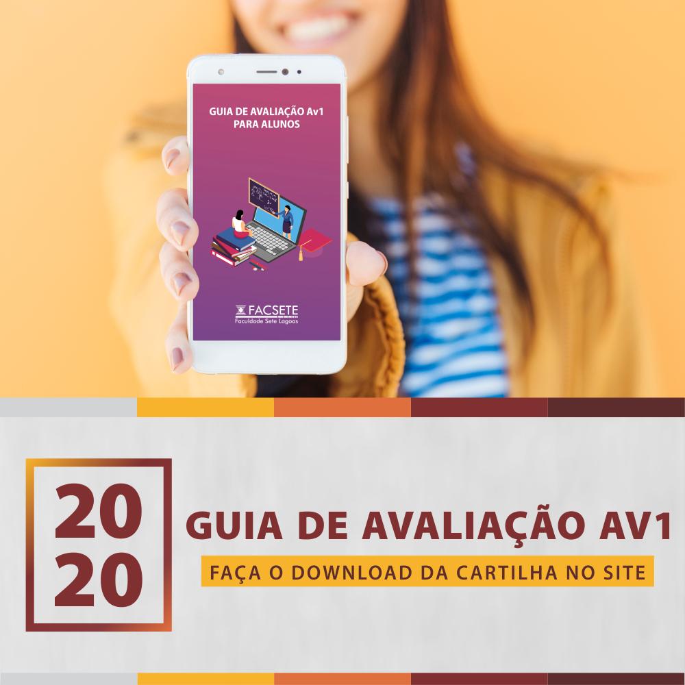 GUIA DE AVALIAÇÃO AV1 PARA ALUNOS