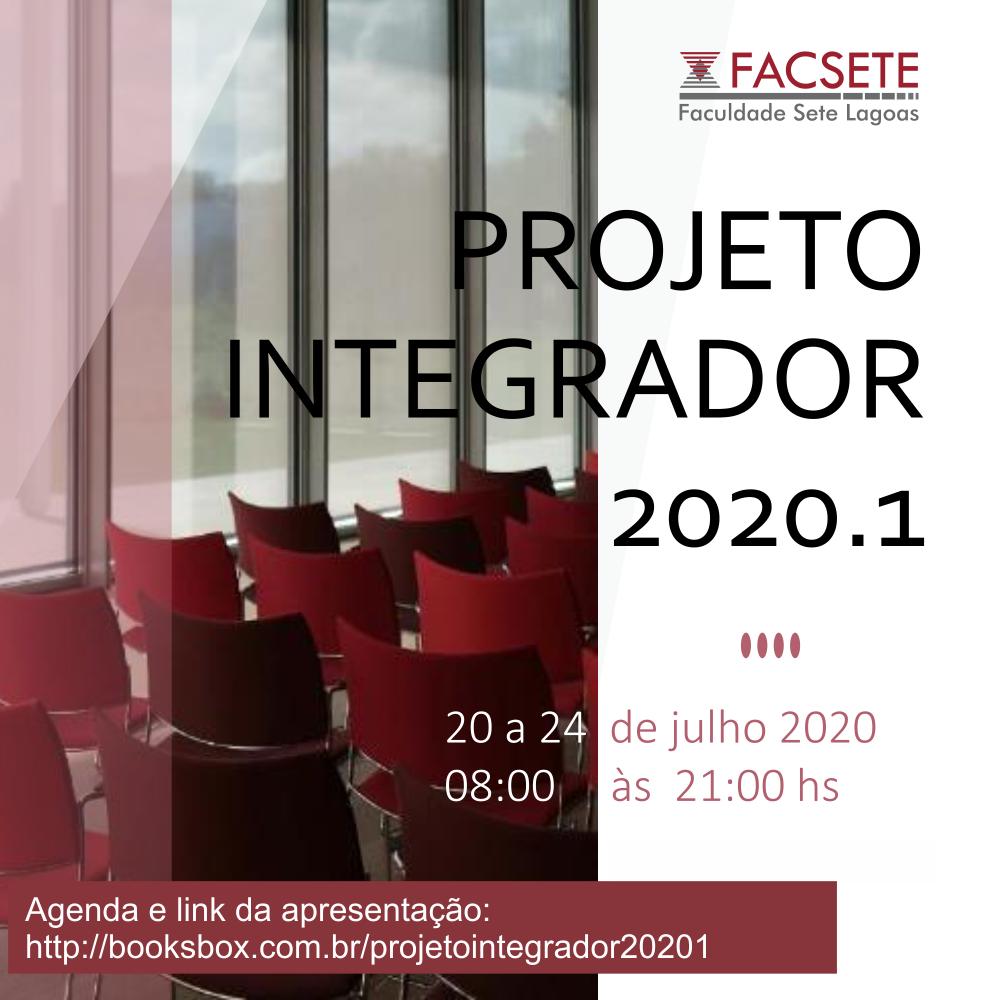 APRESENTAÇÃO PROJETO INTEGRADOR 2020.1