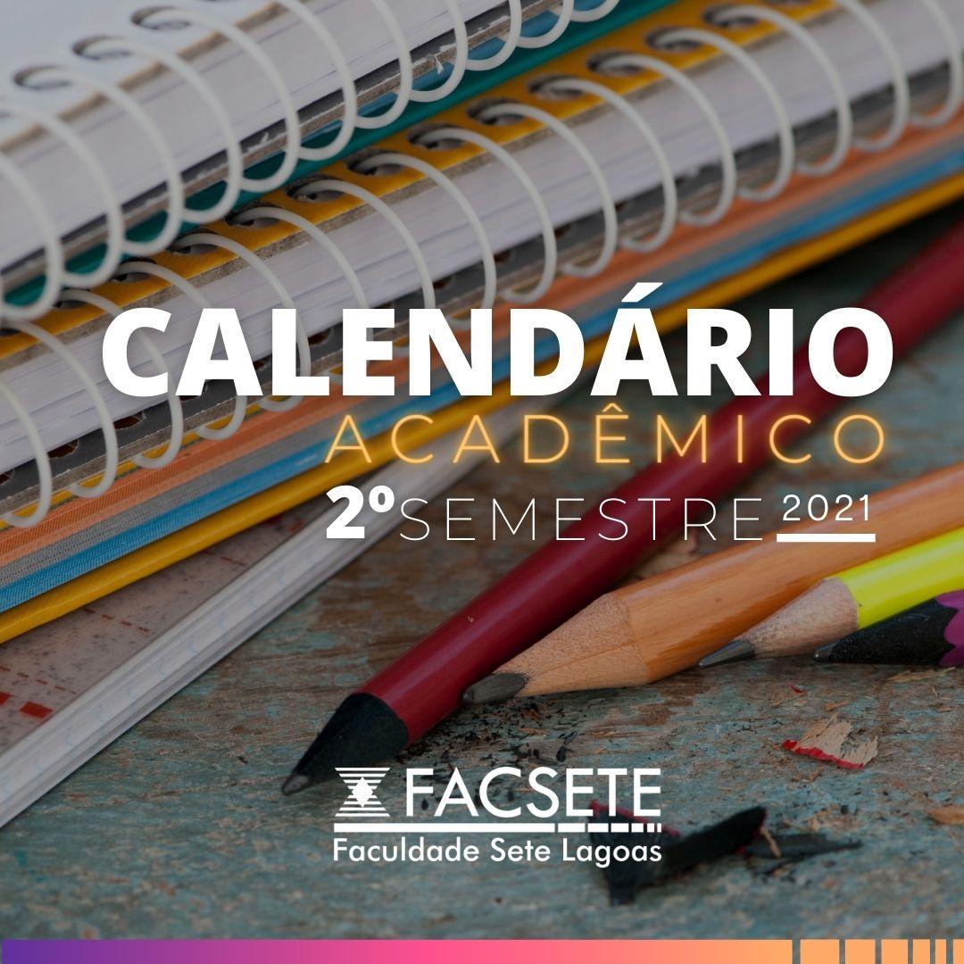 Calendário Acadêmico 2021.2